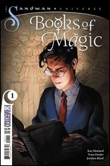 Books of Magic #1 Cover - Carpenter