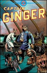 Captain Ginger #1 Cover
