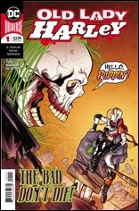 Old Lady Harley #1 Cover