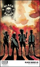 Black Badge #5 Cover