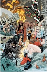 DC Nuclear Winter Special #1 Cover - Unmarked