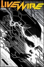 Livewire #1 Cover - Pollina B&W Variant