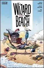 Wizard Beach #1 Cover - Nolan