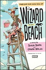 Wizard Beach #1 Cover - Schall Variant
