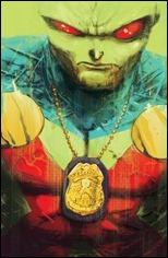 Martian Manhunter #1 Cover - Unmarked