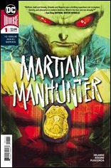 Martian Manhunter #1 Cover