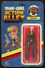 Tank Girl: Action Alley #1 Cover B - Action Figure Variant
