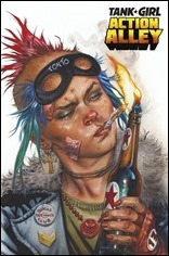Tank Girl: Action Alley #1 Cover C - Staples Variant
