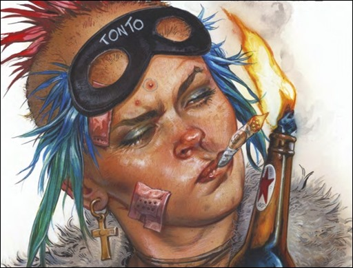 Tank Girl: Action Alley #1