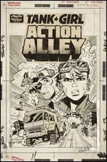 Tank Girl: Action Alley #1 Cover D - Parson Artist Edition Variant