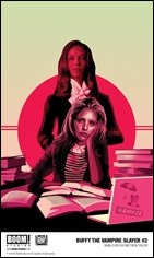 Buffy The Vampire Slayer #2 Cover - Taylor
