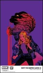 Buffy The Vampire Slayer #2 Cover - Mok Variant