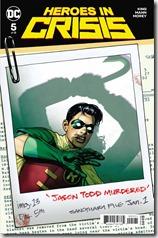 Heroes in Crisis #5 Cover - Sook Variant