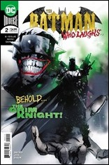 The Batman Who Laughs #2 Cover