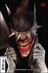 The Batman Who Laughs #2 Cover - Oliver Variant