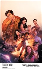 Firefly: Bad Company #1 Cover - Campbell Variant
