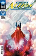 Action Comics #1012 Cover - Campbell