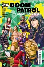 Doom Patrol: Weight Of The Worlds #1 Cover