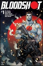 Bloodshot #1 Cover - Carbon Variant Meyers