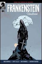 Frankenstein Undone #1 Cover - Mignola Variant