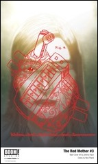 The Red Mother #3 Cover - Haun