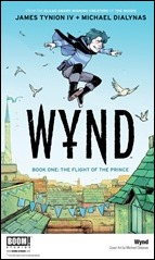 Wynd Book One: The Flight of the Prince OGN Cover