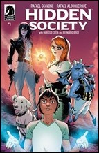 Hidden Society #1 Cover