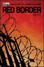 Red Border #1 Cover